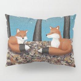 starlit foxes Pillow Sham