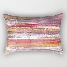 Lavender blush abstract watercolor Rectangular Pillow