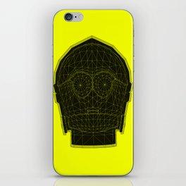 C3p-yellow iPhone Skin