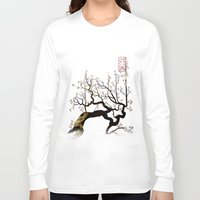 sakura Long Sleeve T-shirts featuring Sakura by AmKiLi