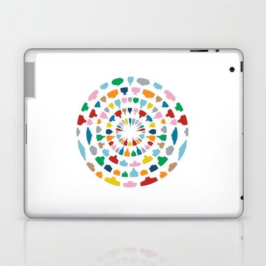 Wine o'Clock on White Laptop & iPad Skin