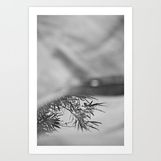 Less and less Art Print
