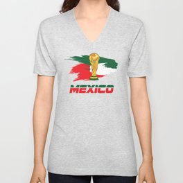World cup mexico Unisex V-Neck