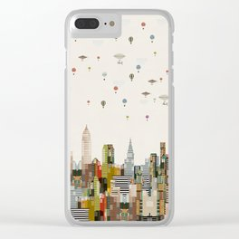 the great wondrous balloon race Clear iPhone Case