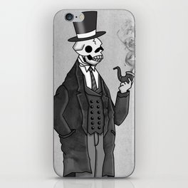 Undead Gentleman iPhone Skin
