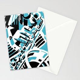 Sax Stationery Cards