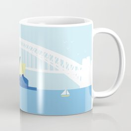 Johanna & Luke's Sydney Harbour Coffee Mug