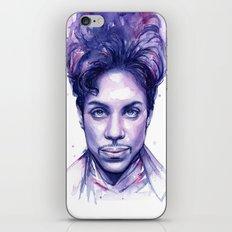 Prince Purple Watercolor Rain iPhone & iPod Skin