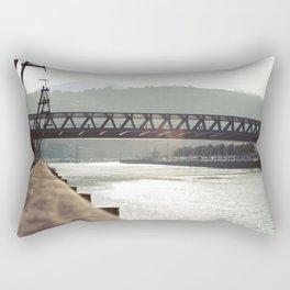 Euskalduna Bridge Rectangular Pillow