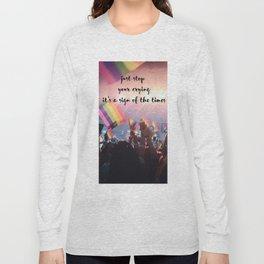 Harry Styles - rainbow flag Long Sleeve T-shirt