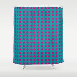 MAGENTA POIS Shower Curtain