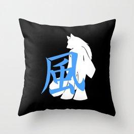 Kaze Logo Throw Pillow
