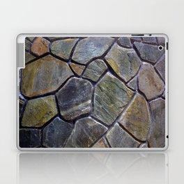 Stone Mosaic Wall Laptop & iPad Skin