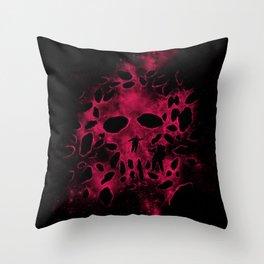 Death on Deep Space Throw Pillow