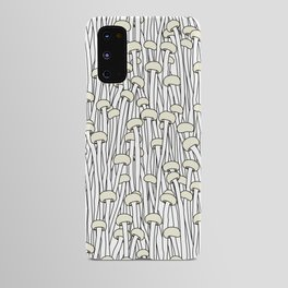 Enokitake Mushrooms (pattern) Android Case