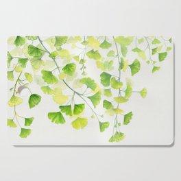Ginkgo Watercolor  Cutting Board
