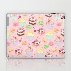 sweet pattern aka cake , cupcake and macaroon Laptop & iPad Skin