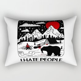 I Eat People Rectangular Pillow