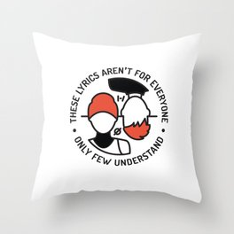 MM Throw Pillow