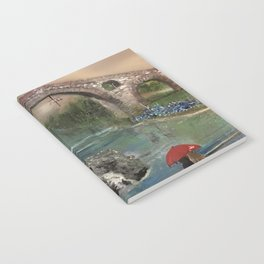 The Roman Bridge, Asturias  Notebook