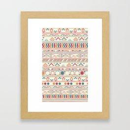 tribal Print Framed Art Print