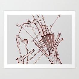 Inconsiderate Thoughtfulness Art Print