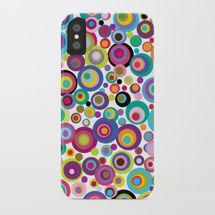 Confetti Dots iPhone Case