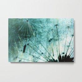 Dandelion Art 7 Metal Print