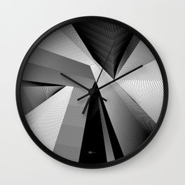 Geometric Disarray Wall Clock