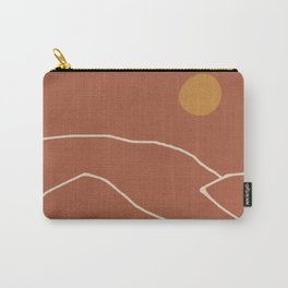 Minimal Abstract Art Landscape 2 Carry-All Pouch