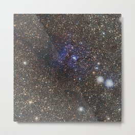 Distant galaxy Metal Print