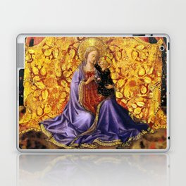 """Fra Angelico (Guido di Pietro) """"Madonna of Humility with Angels"""" Laptop & iPad Skin"""