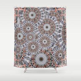 Random play with mandalas Shower Curtain