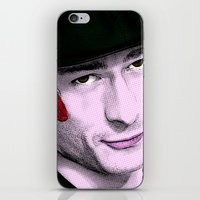 chad wys iPhone & iPod Skins featuring Scream Queens - Chad Radwell by Binge Designs Homeware