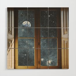 WINDOW TO THE UNIVERSE Wood Wall Art