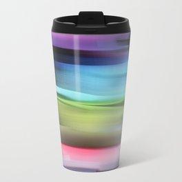abstract brush strokes Travel Mug