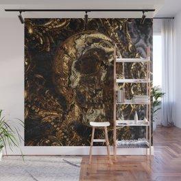 Go back to skull Wall Mural