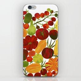 Whimsical Fruit Salad iPhone Skin