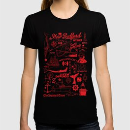 New Bedford Massachusetts Print T-shirt