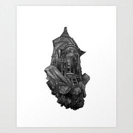 Selenite Lighthouse Art Print