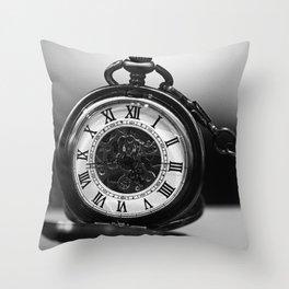 Pocket Watch Throw Pillow