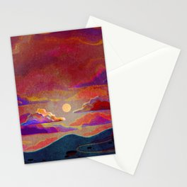 alone house Stationery Cards