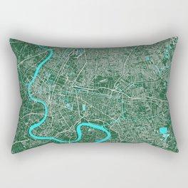 Bangkok, Thailand street map Rectangular Pillow
