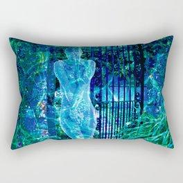 Blue Spirit Rectangular Pillow