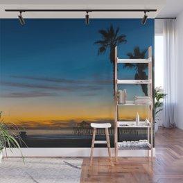 Serene Sunset Wall Mural