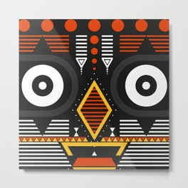 bobo bwa Metal Print