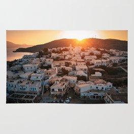 Milos Island Sunset Rug