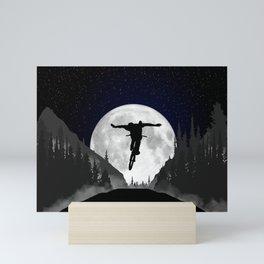 MTB Moon Trick Mini Art Print