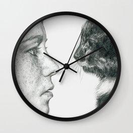 Observations Of A Cat Wall Clock