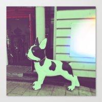 puppy Canvas Prints featuring Puppy by Karolis Butenas